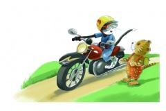 Tigertom-Motorrad